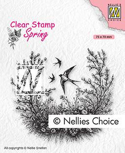 Clear Stamp Spring Spring Is In The Air