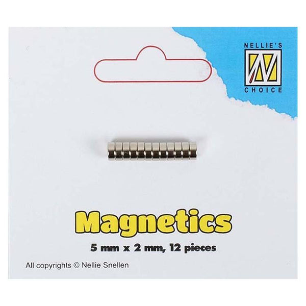 Nellie's Choice Magnetics 5mm x 2mm 12 pcs