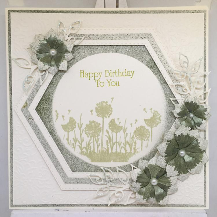 Sentimentally Yours Dandelion Daydreams DL Pre Cut Stamp Set