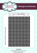 Houndstooth Cloth A6 Background Stamp