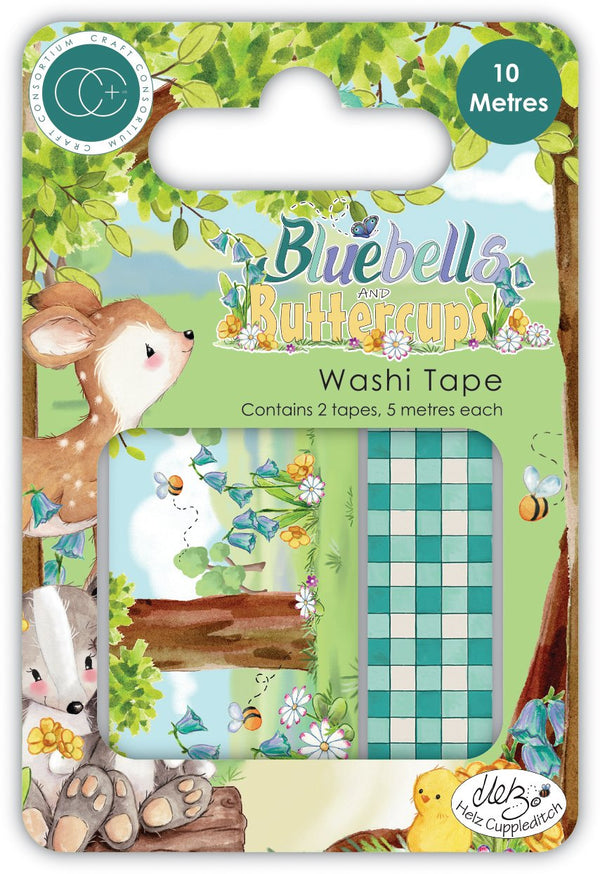Bluebells and Buttercups - Washi Tape