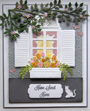 Kinetics Collection 3D Window Box and Accessories Die