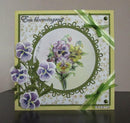 Marianne Design: Craftables Dies - Tiny's Pansy
