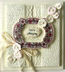 Creative Expressions: Embossing Folder A4 - Jacobean Floral