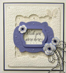 Embossing Folder A4 - Butterfly Dreams