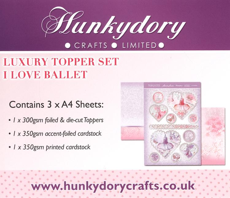 Gorgeous Girls Luxury Topper Sets - I Love Ballet
