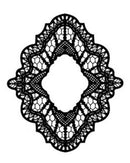 Foam Mounted Cling Stamps - Delicate Lace