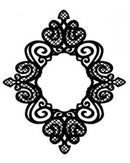 Foam Mounted Cling Stamps - Fine Finials
