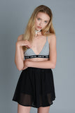 Anti Sheer Black Skirt