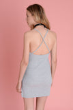 Wallace Grey Rib Dress