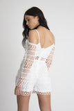 Indio Crochet Lace Playsuit