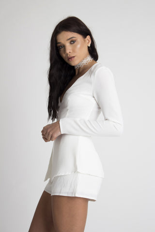 Kaia Plunge Playsuit