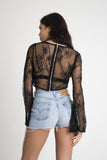 Cult Lace Crop Top