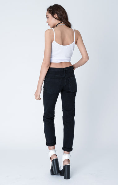 Libertine Black Distressed Jeans