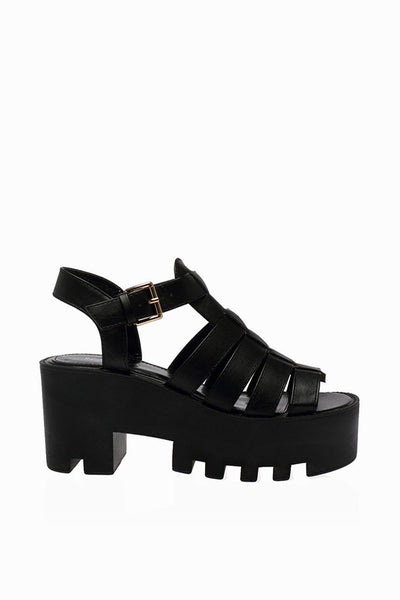 Colorado Black Gladiator Sandals