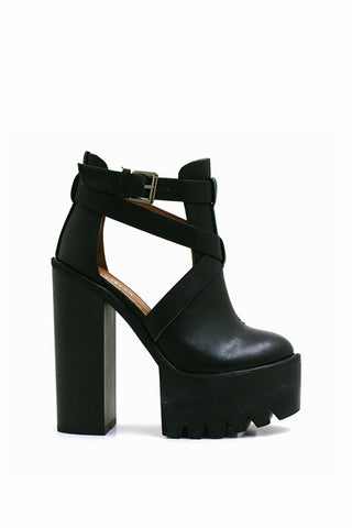 Lexi Cut Out Platform Boots