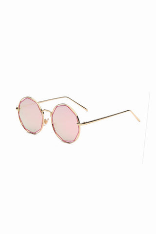 Hex Rose Gold Sunglasses