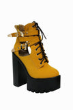 Trap Honey Cleated Platform Boots
