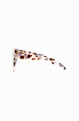 Leni Leopard Cat Eye Sunglasses