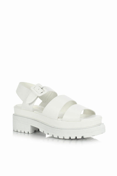 Bel Air White Sandals