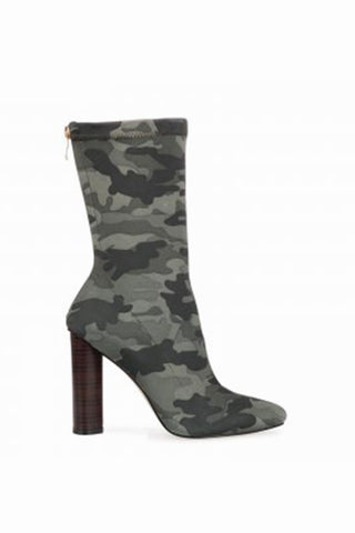 Ryan Lycra Camouflage Boots
