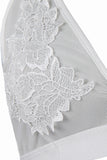 Albany White Floral Applique Bralet