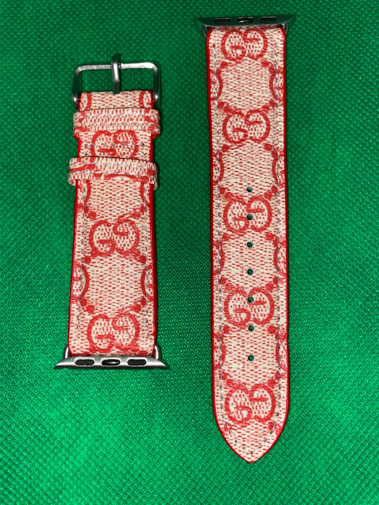 RED GG WATCHBAND