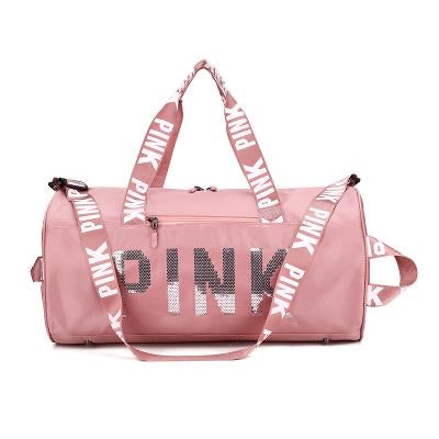 Pink Duffle Bags 3.