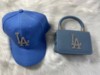 LA Purse & Hat Set