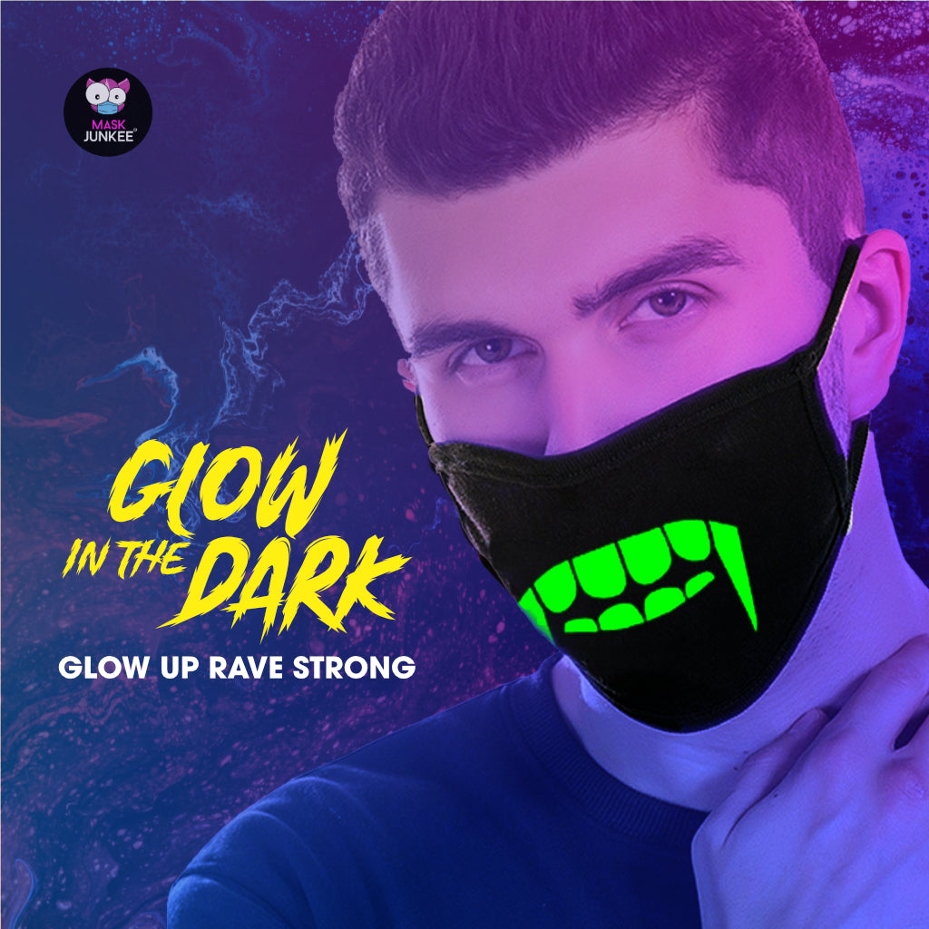 Glow-In-The-Dark Masks