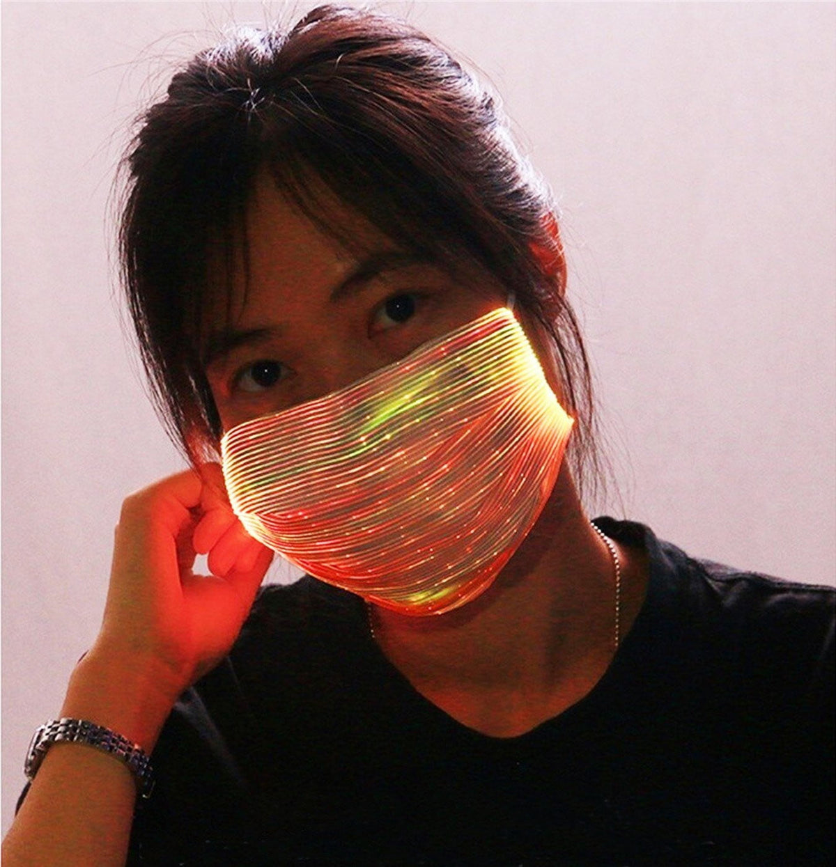 LED Face Mask - MaskJunkee