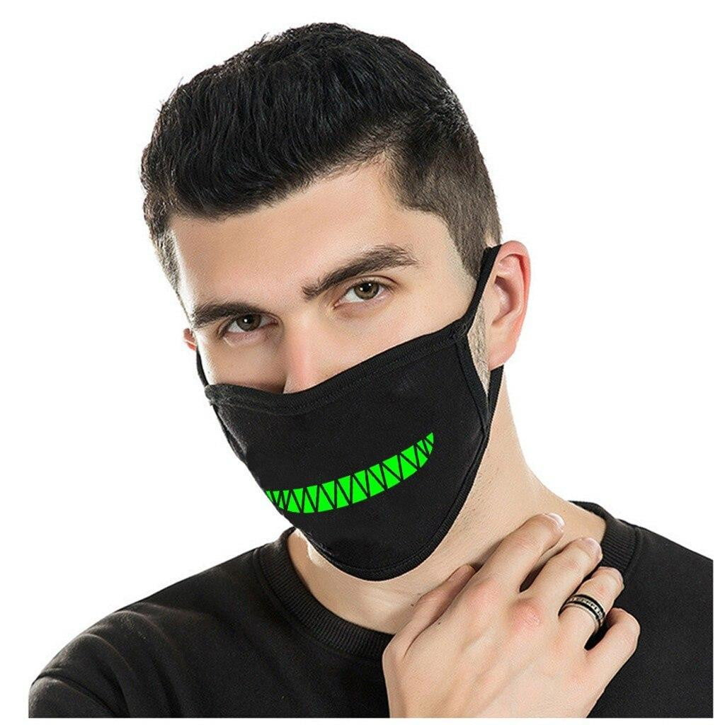 Glow-In-The-Dark Face Mask - MaskJunkee