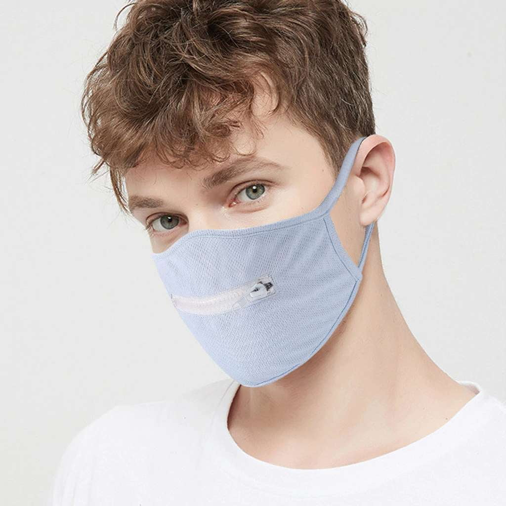 Zipper Mouth Face Mask - MaskJunkee