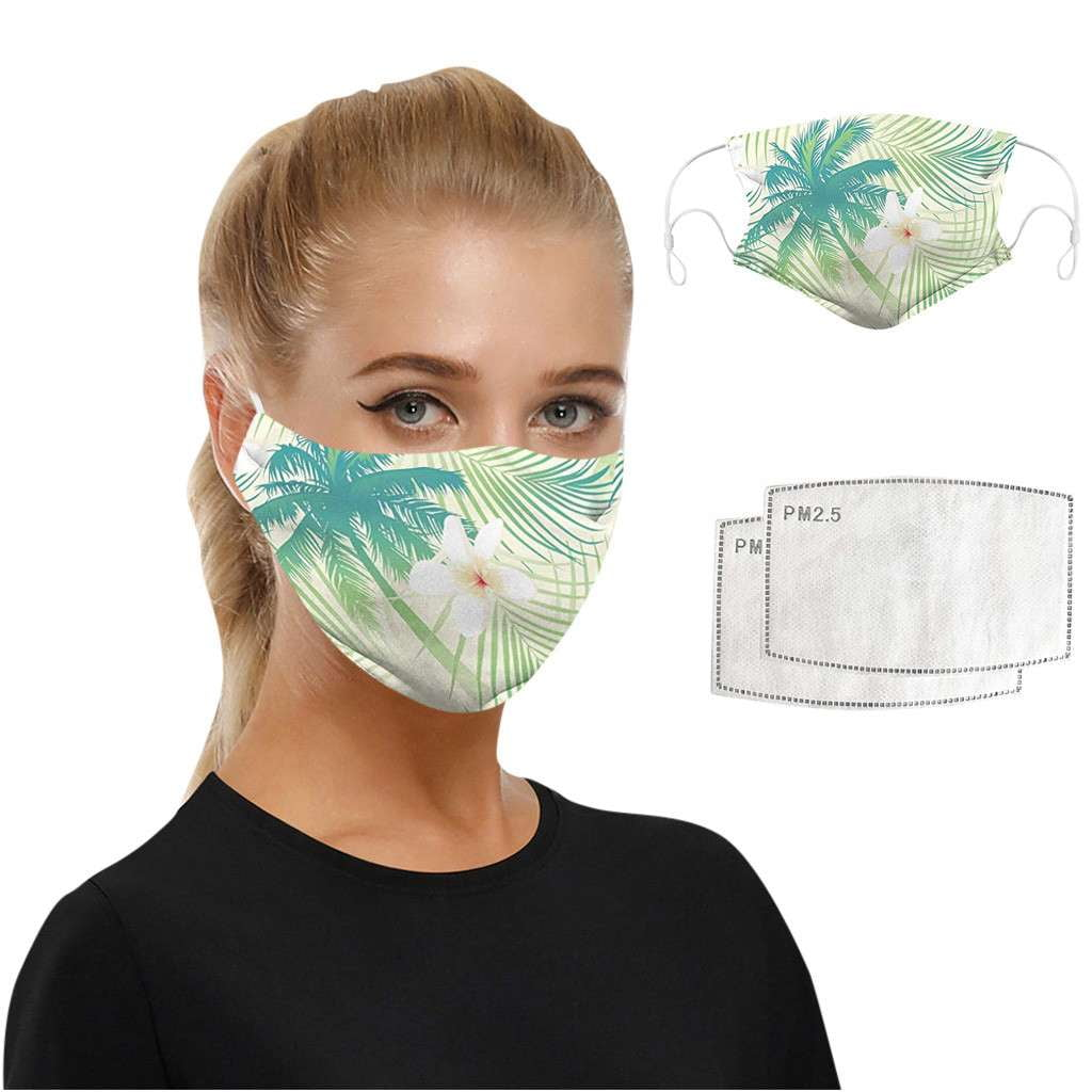 Hawaii Vibes Face Mask - MaskJunkee
