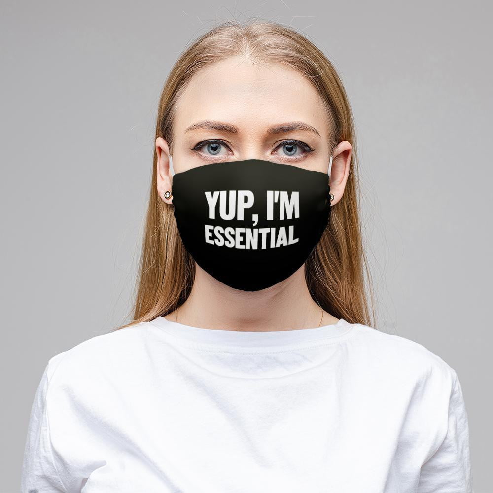yup-im-essential-face-mask