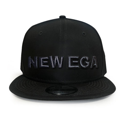 NEW EGA CAP 黒