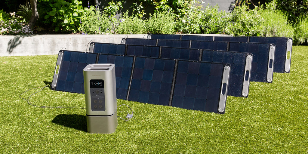 The HomePower 2 and SolarPower 2 backup battery power station.