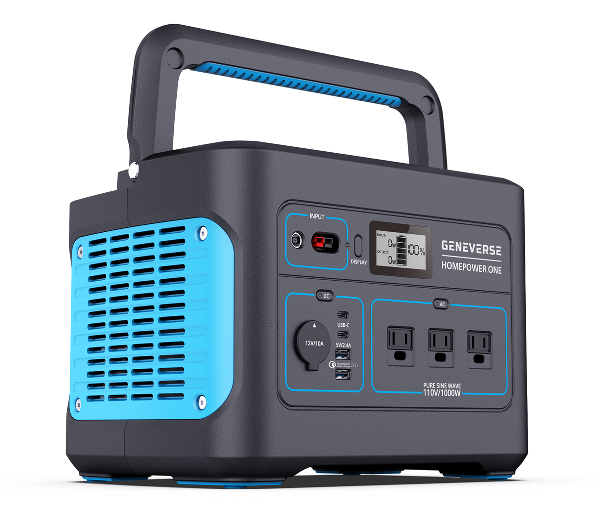 HomePower ONE: Backup Battery Power Station