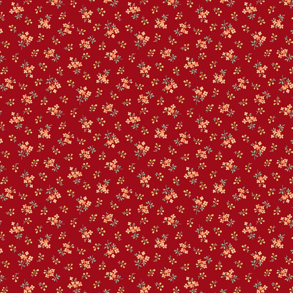 Collectable Calicos by Laura Berringer Red Belle Calico Flowers