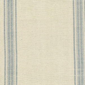 Cotton Toweling from Moda Blue Stripe