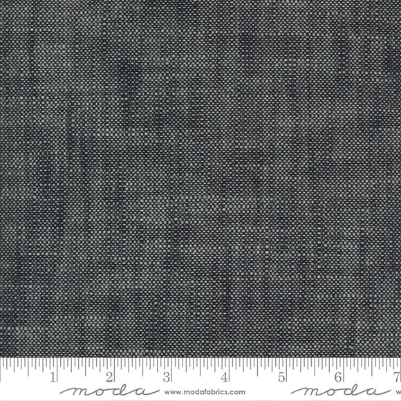 Boro Woven Dark Indigo Slub Canvas from Moda