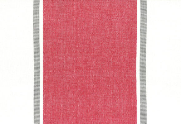Picnic Point Cotton Toweling from Pieces to Treasure Red