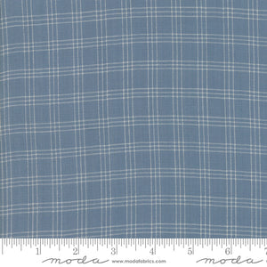 Northport by Minick & Simpson Silky Plaid Woven Graph Med Blue