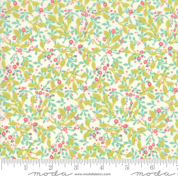 Abby Rose by Robin Pickens  Greenery Scatter Cream