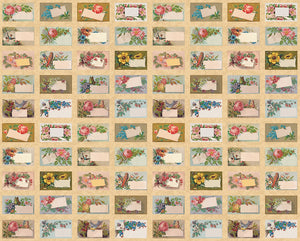 Flea Market Mix by Cathe Holden Labels Panel Parchment
