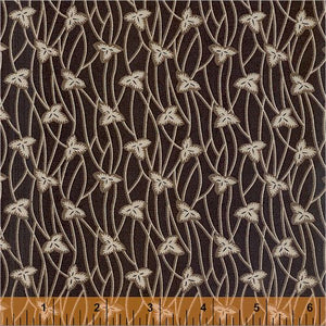 Colonies Archives Brown Stem for Windham Fabrics
