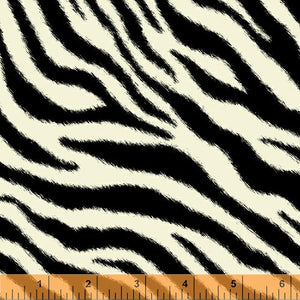 Call of the Wild Zebra Laminate from Windham Fabrics