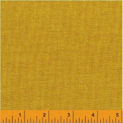 Artisan Solid Crossweave by Another Point of View Mustard Gold