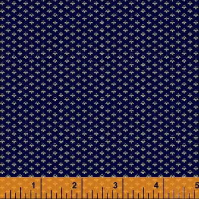 Evelyn Navy Foulard from Windham Fabrics