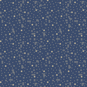 Cunningham Dot Geo Lt Blue for Windham Fabrics
